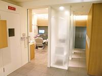 待合室と診療台